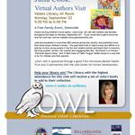 Flyer for Julia Cook Author Visit